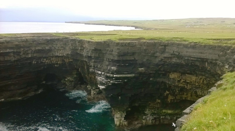 Cliffs at Ballycastle, Co. Mayo